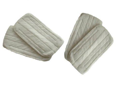 Dampf-mopp (First4Spares Reinigungspads Für Black & Decker Dampf-mopps 4er packung)