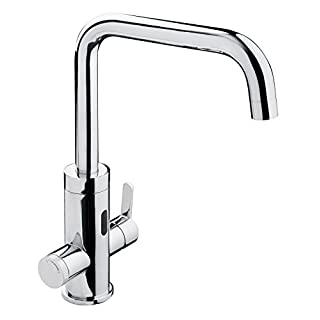 Flash Single-Lever Mixer Tap with Sensor Function, Chrome