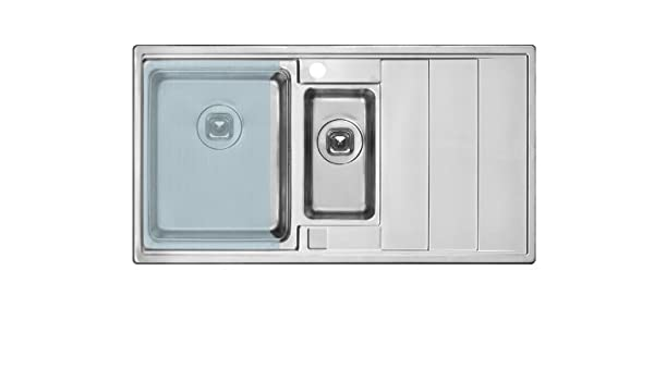 Chamber 1 0 Sink In Set With Board Is Made From Hard Glass And