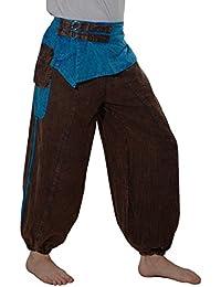 Kunst und Magie Baggy-Pants - Stonewashed Goahose