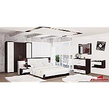 Suchergebnis Auf Amazon.de Für: Schlafzimmer Komplett Weiß Hochglanz Schlafzimmer Komplett Wei Hochglanz
