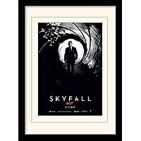 James Bond Skyfall Teaser A3 Framed and Mounted Print preiswert