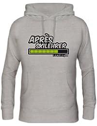 Shirtstreet, Après Skilehrer Loading..., Wintersport Apres Ski Herren Herren Kapuzen Sweatshirt Hoodie