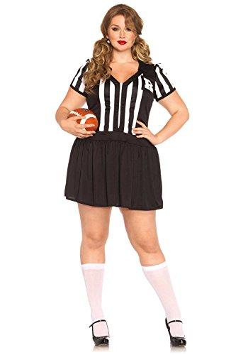 Leg Avenue 85390X - Halftime Hottie Damen kostüm, Größe 1X-2X ( EUR 44-46)