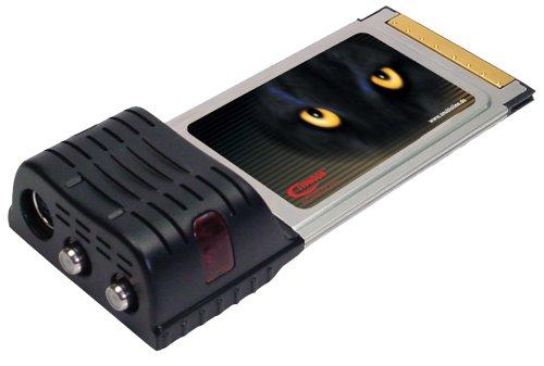 Typhoon TV Card DVB-T Duo Digital/Analog PCMCIA CardBus TV-Karte