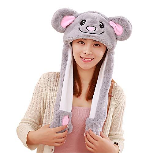 Up Kostüm Geek Dress - OAMORE Beweglich Kaninchenhut Plüsch-Spaß-Tierhut Deckel Party Geschenk Halloween Ostern Neuheit Party Dress up Cosplay (Koala)