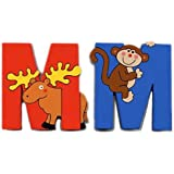 The Toy Workshop - Jungle Alphabet M