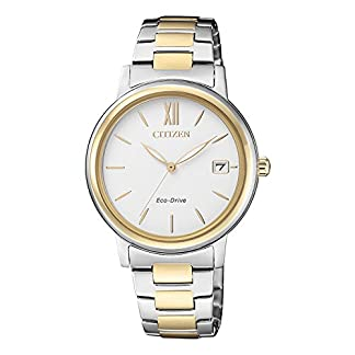 Citizen Analog White Dial Women's Watch-FE6094-84A
