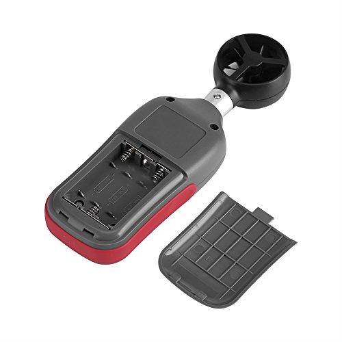 Fdit UA-965 Digital Mini Wind Luftgeschwindigkeit Meter Anemometer Temperatur Test