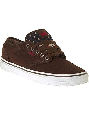 Vans Atwood, Sneakers Basses Femme Brun