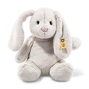 Steiff 80470 - Conejo de Peluche (28 cm), Color Gris Claro