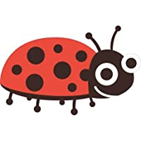 Ladybird Self Adhesive Sticker