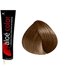 coloration marrons chauds 735 blond dor acajou 100ml alo color - Shampoing Colorant Acajou