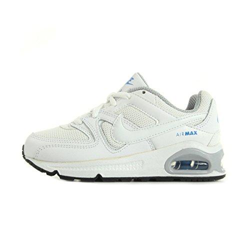 Nike White / White-White-Black, Baskets Basses Mixte Bébé Blanco (White / White-White-Black)