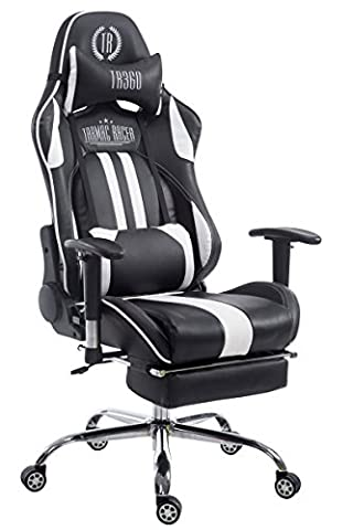 Racing Chaise de bureau Limit avec repose pieds