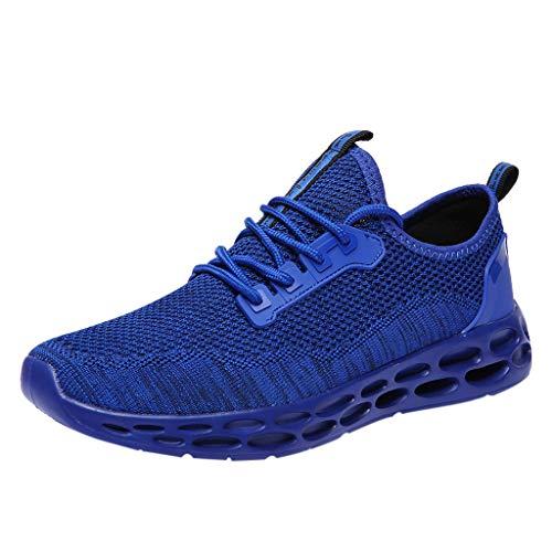 Laufschuhe Herren Dasongff Atmungsaktiv Sneaker Männer Hohe Sneakers Shock Absorbing Turnschuhe Sportschuhe Herrenschuhe mit Luftpolster