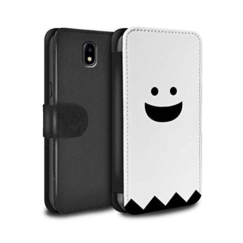 �lle/Case/Tasche/Cover für Samsung Galaxy J5 2017/J530 / Geist Muster/Halloween Zeichen Kollektion ()