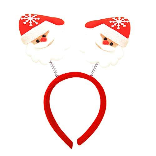 CHCUAN Weihnachten Cartoon Stirnband Headwear Haarbänder für Erwachsene Kinder Party Urlaub Dekoration, Weihnachtsdekoration, Cosplay