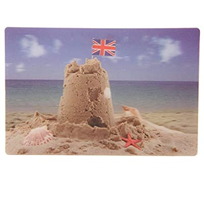 Seaside Sandcastle 3D Postcard (Buy one get one free)
