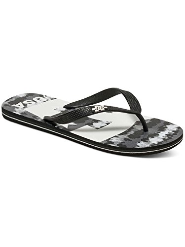 Dc Shoes Spray Graffik D0303276, Infradito Uomo Noir - Black/Black/White