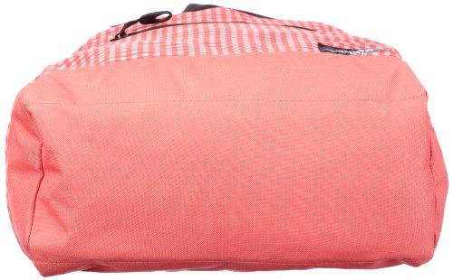Puma Borsa a spalla Foundation, 20 litri, Rosso (calypso coral pink-gingham print), Taglia unica Rosso - calypso coral pink-gingham print