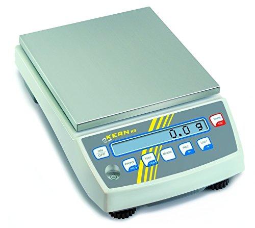 Kern & Sohn  wlpf6500Serie KB Präzisions-Küchenwaage 1g Wert-Typgenehmigung, ohne automatische Anpassung interne, 6500g Bereich Wägezelle Skala, 0.1g