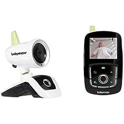 "Babymoov Visio Care III Babyphone Camera Video avec Vision Nocturne et Talkie Walkie, Ecran 2,4"""