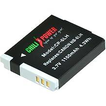 Chili Power NB-6LH batteria per Canon PowerShot S120D10D30, S90, SD770, SD980, SD1200, SD1300, SD3500, SD4000IS, sx170is, SX240HS, SX260HS, sx270hs, sx280hs, sx500is, sx510hs, sx520hs, sx600hs, SX700HS