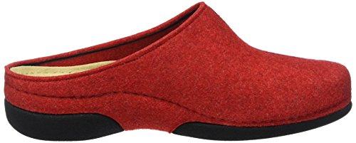 Berkemann Damen Lauren Pantoffeln Rot (rot 235)