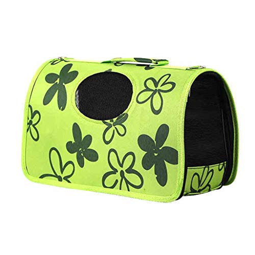 Bolsa de mascotas Gato Mochila Teddy out Bolsa de Viaje Transpirable Bolsa de Jaula Bolsa de Hombro portátil Lostgaming (Tamaño : XS)