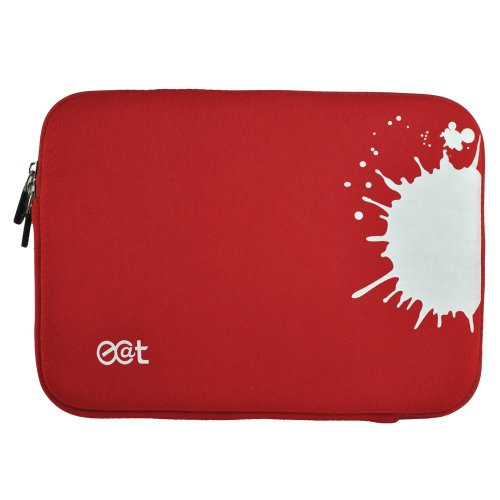 Ecat Splash Laptop Hülle 25,9 cm (10,2 Zoll) rot