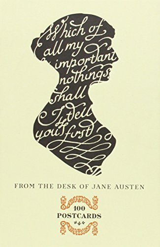 From the Desk of Jane Austen: 100 Postcards par Potter Style
