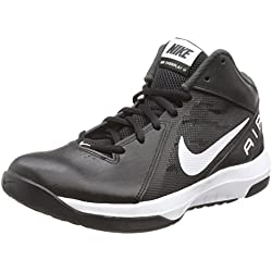 Nike the Air Overplay IX, Zapatillas de Baloncesto para Hombre, Negro