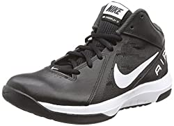 Nike Mens The Air Overplay Ix Black, White, Anthracite and Drk Gry Basketball Shoes -7 UK/India (41 EU)(8 US)
