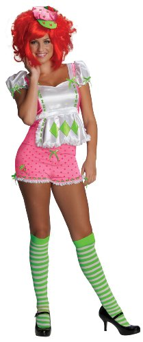 Sexy Costume Adult Small (Strawberry Shortcake Kostüm Für Erwachsene)