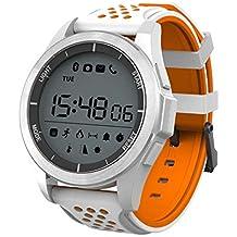 Febelle Reloj Pulsera Inteligente Luz Ultravioleta Luminosa Ip68 Impermeable Elevación Corriendo Smartwatch Podómetro Compatible iOS Android
