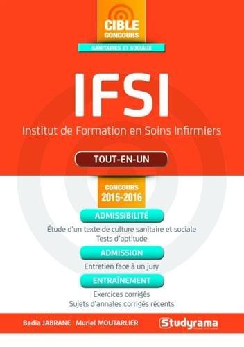 IFSI tout-en-un - Concours 2015-2016
