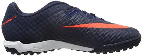 Nike 749888-484, Chaussures de Football en Salle Homme Bleu (Obsidian/total Crimson-game Royal)