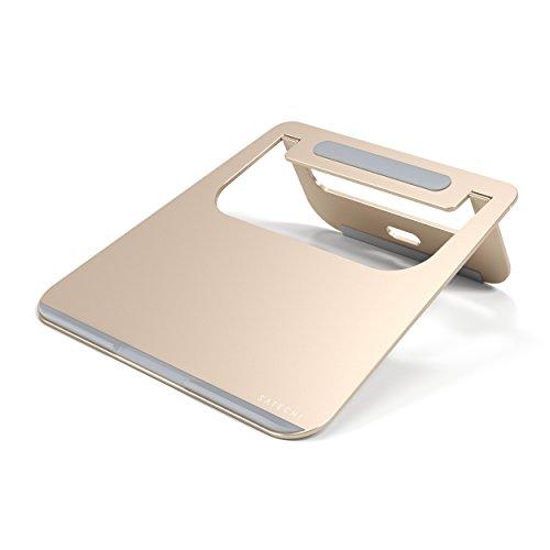 Preisvergleich Produktbild Satechi Aluminium Tragbarer & Verstellbarer Laptop Stand, Klappbarer und leichter Stand für Laptops, Notebooks, und Tablets (Gold)