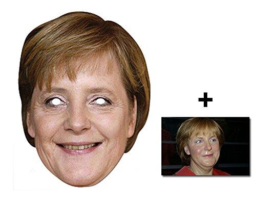Karte Partei Gesichtsmasken (Maske) Enthält 6X4 (15X10Cm) starfoto (Promi Kostüme Einfach)