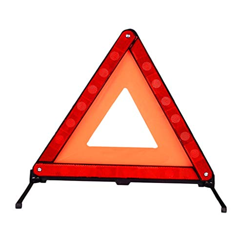 D DOLITY Warning Sign Emergency Fault Triangle Reflector for Cars Car
