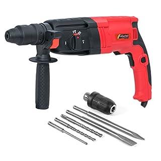 Schlagbohrmaschine SDS und Schnellspannfutter mit 800W / Bohrmaschine Bohrhammer