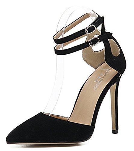 Aisun Noir Multicolore Escarpins 57qzx Classique Talon Aiguille Femme 65tYqqXw