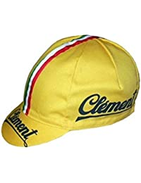 Apis Cappellino Ciclismo Team Vintage Clement Cycling cap HOSTED BY PRO   Line 7fc771430ab4