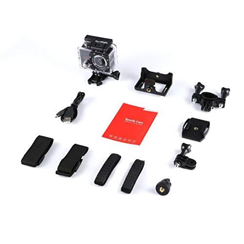 Moliies SJ5000X Elite 4K WiFi Action Camera Wasserdichte Unterwasserkamera Schwarz