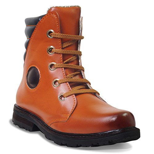 ADYBird Mahogany Brown Boot (10 M, BROWN)  available at amazon for Rs.699