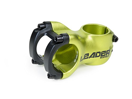 Sixpack-Racing Leader Vorbau, Electric-Green, 31.8 mm