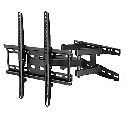 Stagiant Tilt Swivel TV Wall Bracket Mount for 23 - 55 Inch LED LCD OLED and Plasma Flat Screen TVs Max Load 35 KG VESA Size 400 x 400 mm - 10 Year