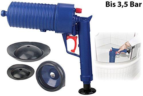 AGT Pressluft-Rohrreiniger mit handlichem Pistolengriff - 2
