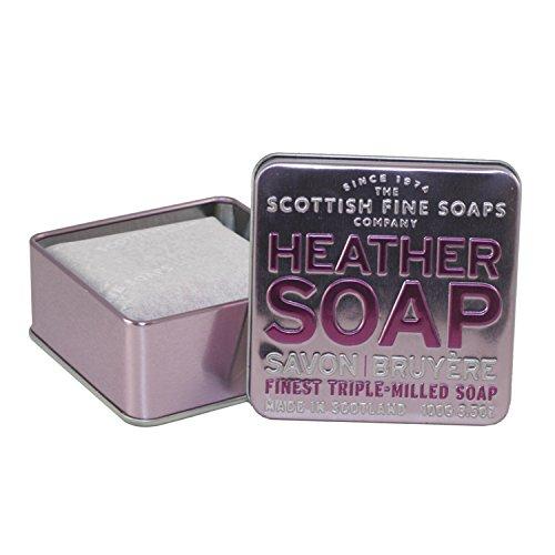 Scottish Fine Soaps - A01161 - Savon Bruyère - Boîte Métallique - 100g